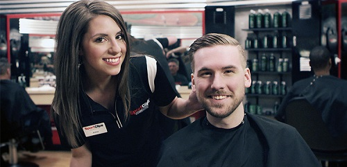 Sport Clips Haircuts of Wesley Chapel stylist hair cut